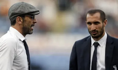 رسميا..جانلويجي بوفون وجورجيو كيليني يمددان عقدهم مع يوفنتوس لمدة عام!