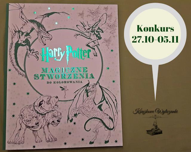 """KONKURS """"Harry Potter Magiczne stworzenia do kolorowania"""""""