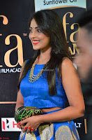 Madhu Shalini Looks Super Cute Slim trim Blue Choli Ghagra IIFA Utsavam Awards 027.JPG