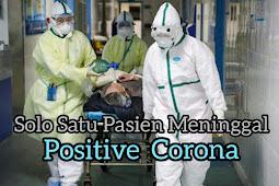 Solo Satu Pasien Meninggal Positif Corona