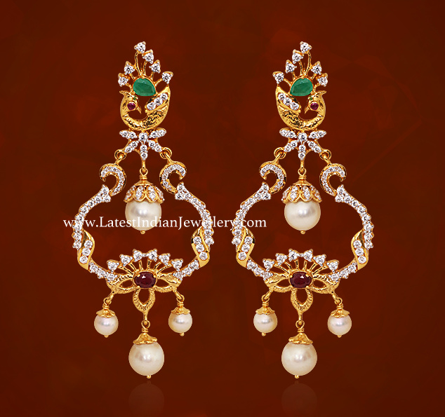 GRT Chandbali Earrings