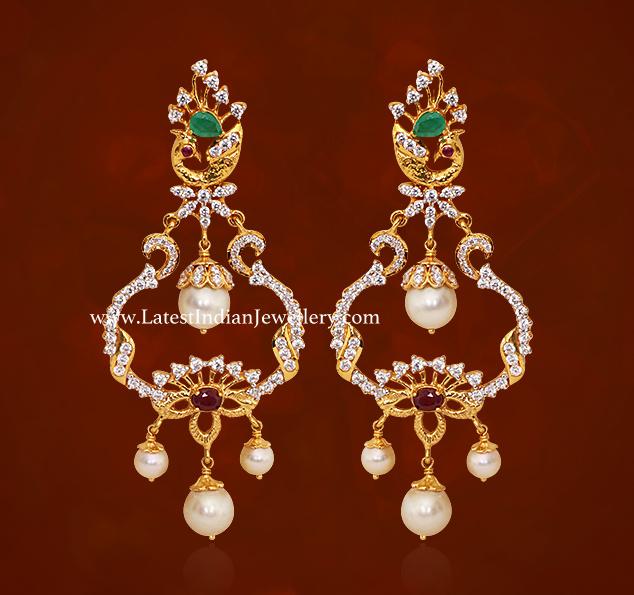 GRT Chandbali Earrings