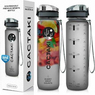 Got Water? Amazon Cactaki Water Bottle