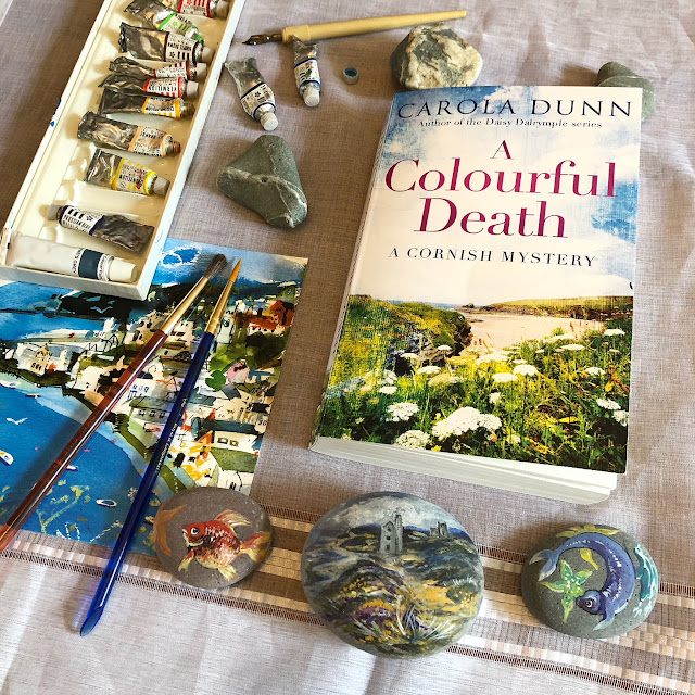 books set in Cornwall, cozy mystery
