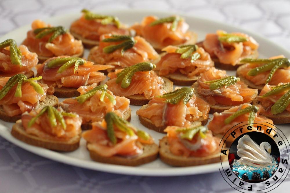 Gravlax sashimi
