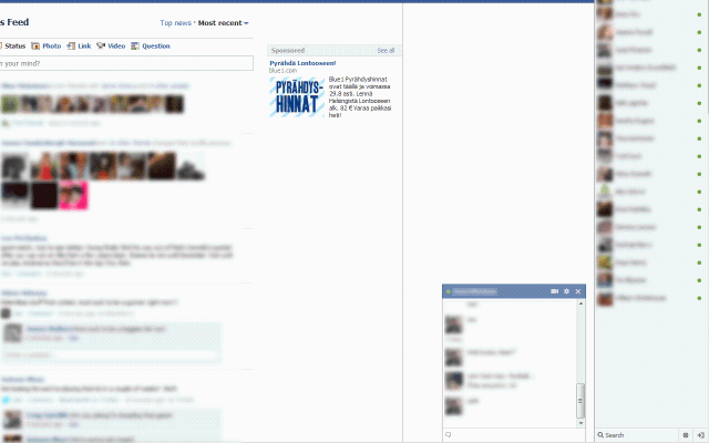 Facebook Chat Fix for Google Chrome - Show online friends only
