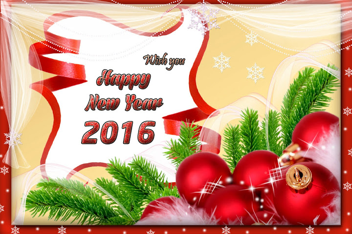 Happy New Year 2016 Lovely Greetings