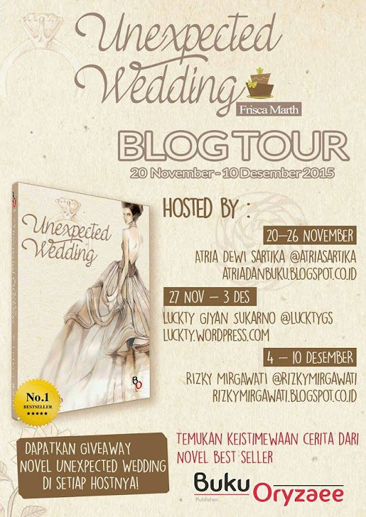 [Blog Tour] Unexpected Wedding ------- Giveaway!!!!!