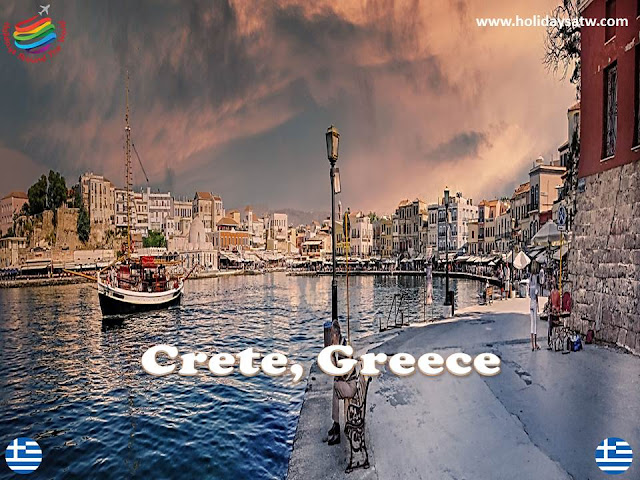 The most beautiful tourist cities and islands of Greece
