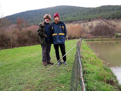 22 dicembre 2018 - Trota lago a Villa d'Agri con Anatoli