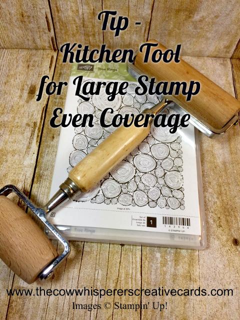 Tip, Roller, Ink Coverage, Large Stamp