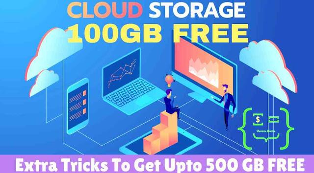 100GB Free Cloud Storage