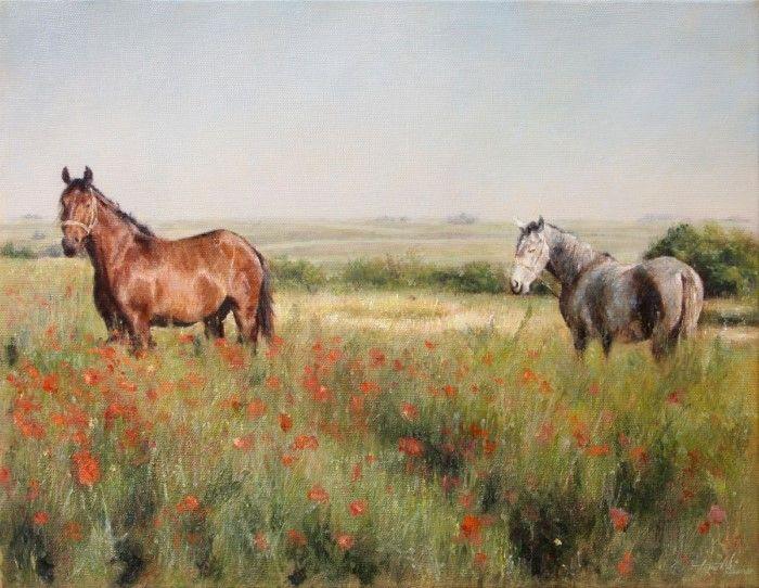 Сербский профессиональный художник. Darko Topalski