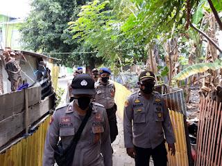 Amankan Kampanye di Kodingareng, Polres Pelabuhan Beri Imbauan dan Awasi Prokes