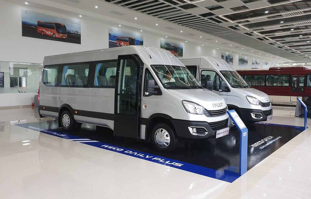 Thaco sản xuất xe minibus Iveco Daily theo tiêu chuẩn Châu Âu
