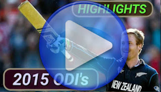 2015 ODI Cricket Matches Highlights Videos