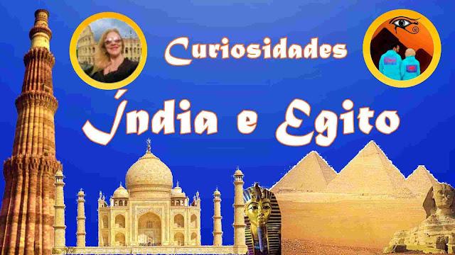 curiosidades sobre a índia e o egito