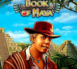 Book of Maya slot game logo