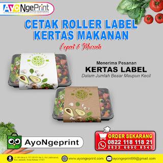Cetak Roller Label Kertas Pengikat di Pameungpeuk, Bandung