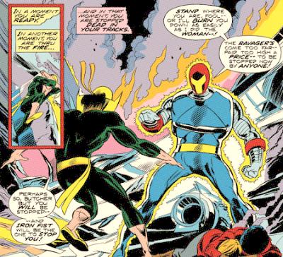 Iron Fist #3, the Ravager