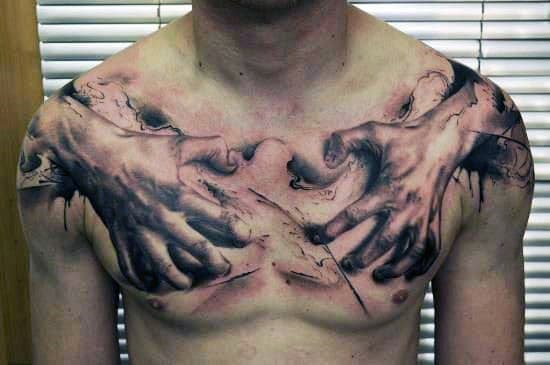 Chest Tattoos