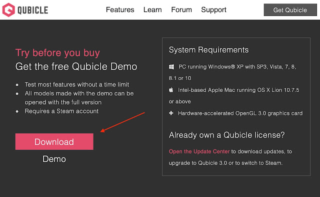 Download the Qubicle Voxel Editor
