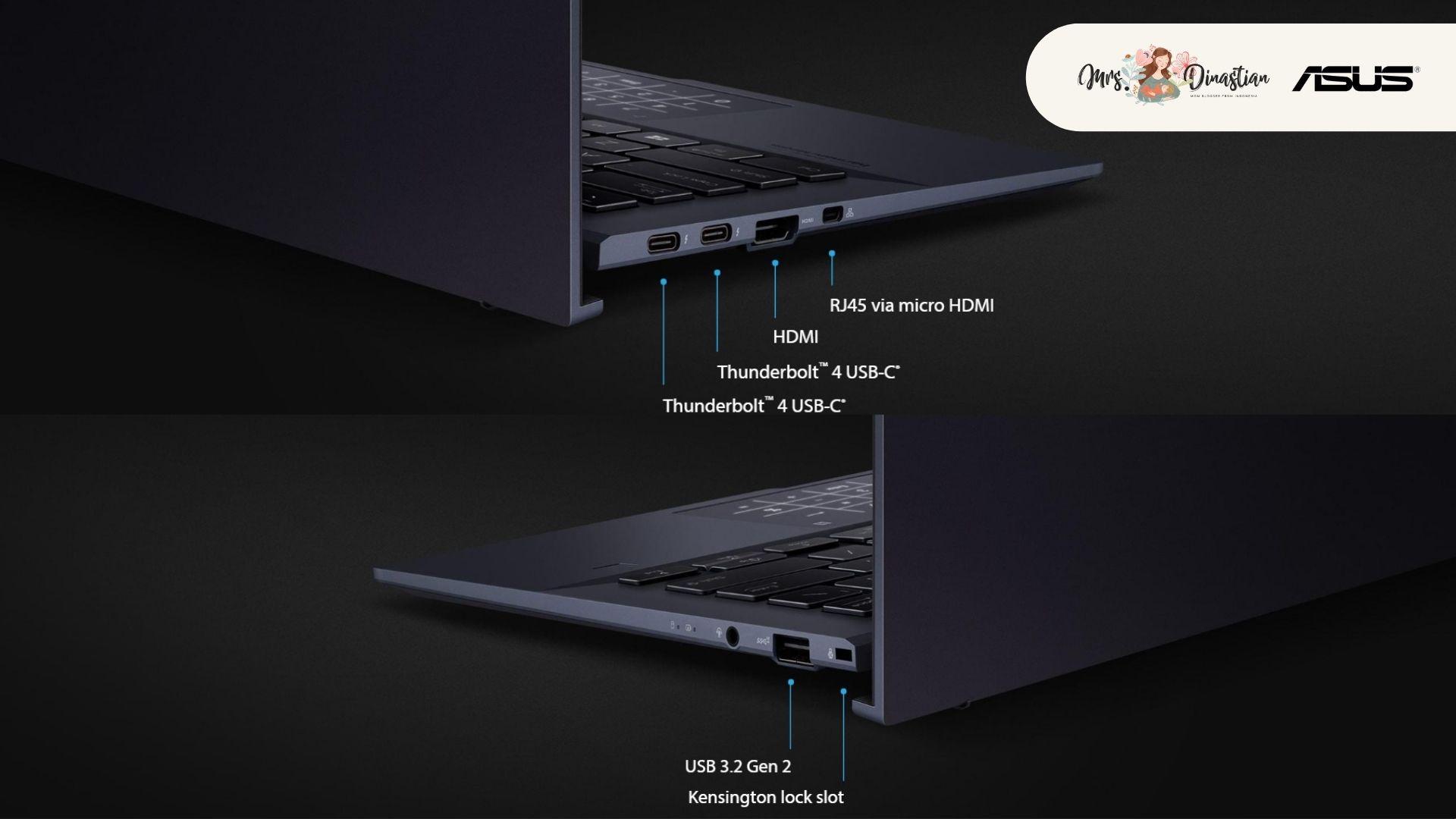 Port ASUS ExpertBook B9400