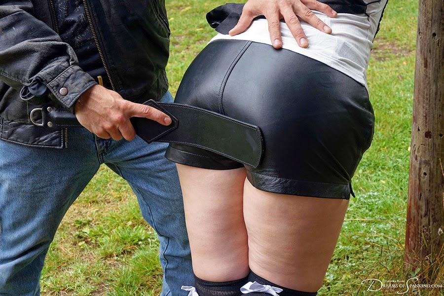 Spanking shorts