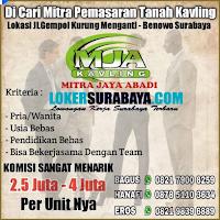 Lowngan Kerja Surabaya di Mitra Jaya Abadi (MJA) Kavling September 2020