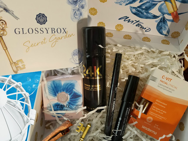 The cost for a GLOSSYBOX subscription by Barbies beauty bits
