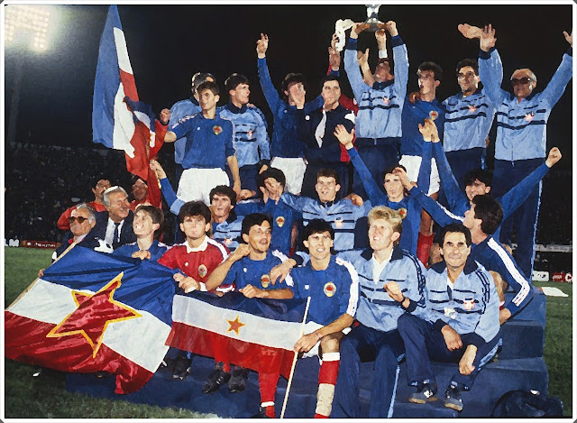 Yugoslavia 1987 Chile World Cup U20