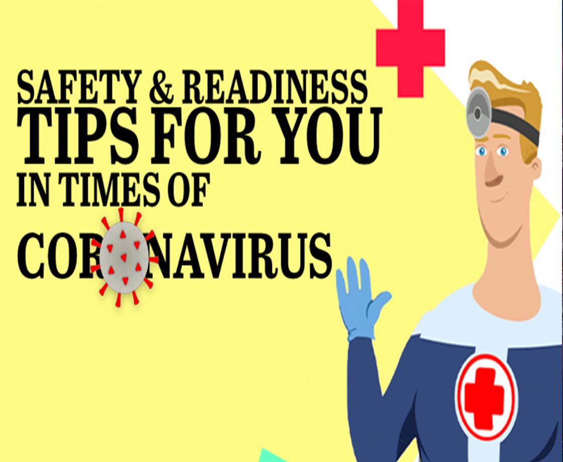 Safety Readiness Tips In Coronavirus