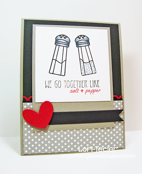 We Go Together card-designed by Lori Tecler/Inking Aloud-stamps and dies from Clear and Simple Stamps