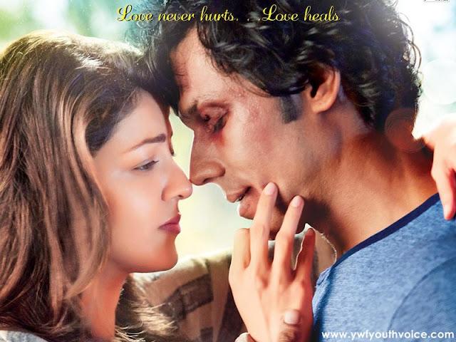 Do Lafzon Ki Kahani (2016) Movie Poster, Randeep Hooda body look, Randeep Hooda Boxing, Kajal Aggarwal, Movie Review
