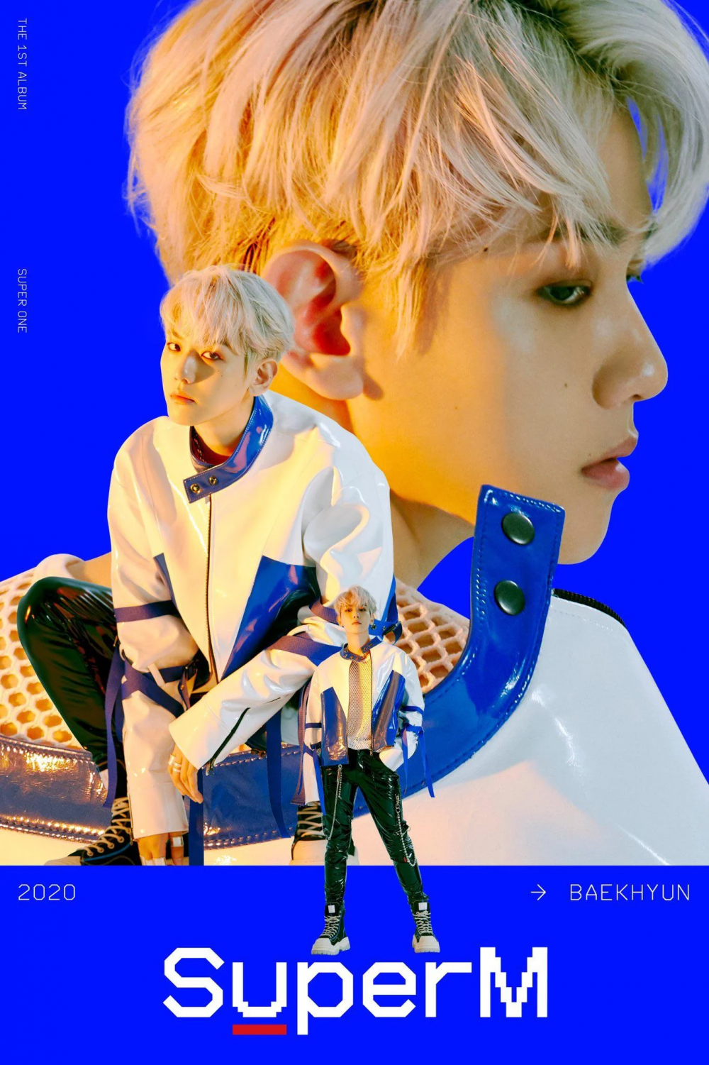 Baekhyun Looks Chic And Manly on SuperM's Individual Teaser for 'Super One'