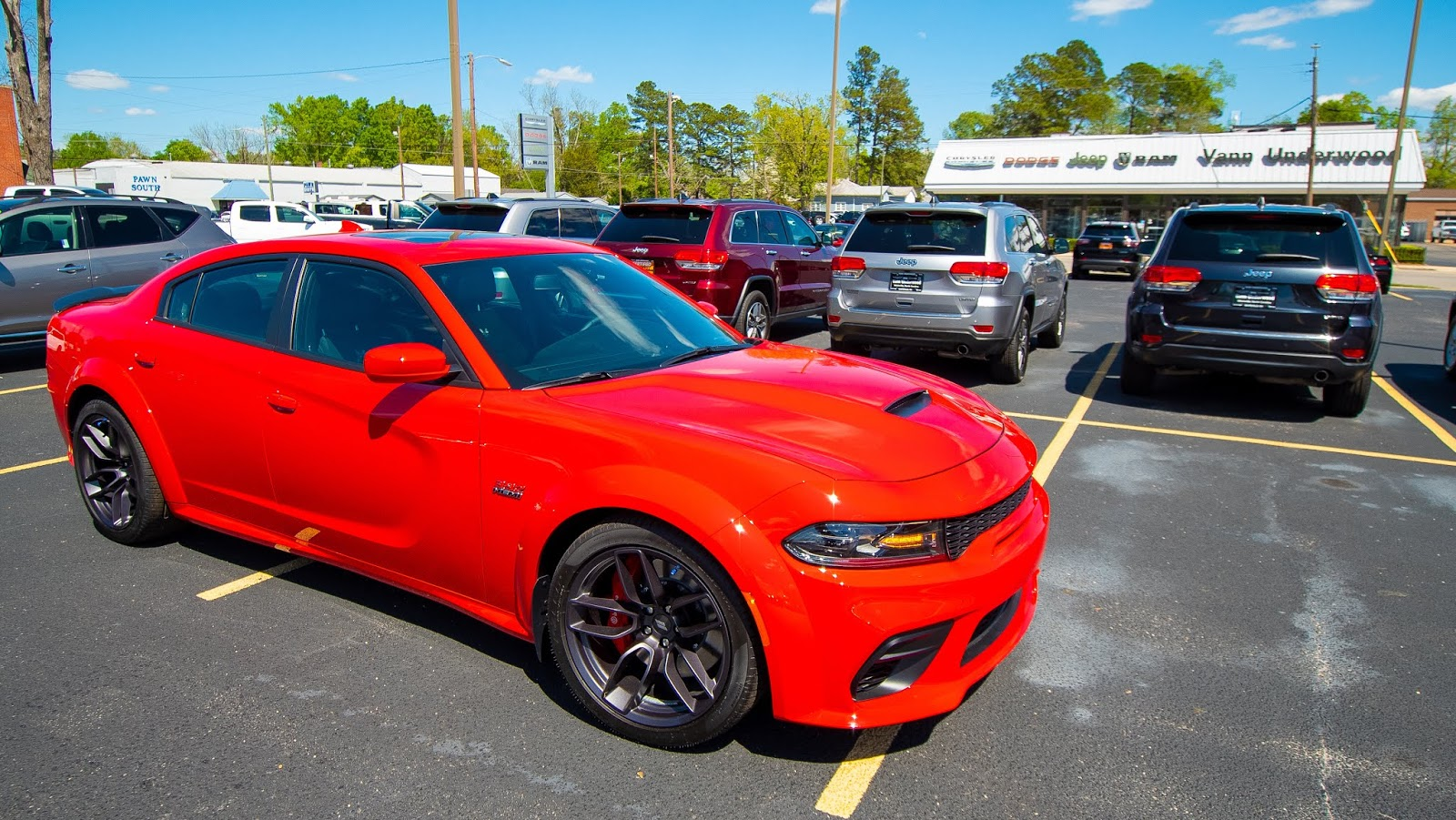 2020 dodge charger / charger srt hellcat