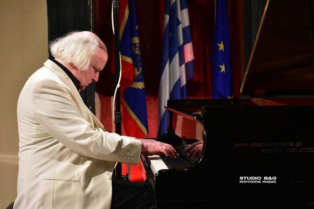 Ρεσιτάλ πιάνου του διεθνούς φήμης Mícéal O'Rourke στο 28ο Φεστιβάλ Ναυπλίου