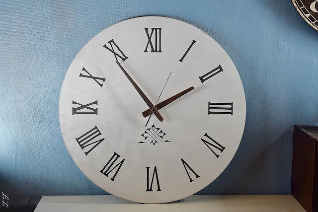 DIY grosse Uhr