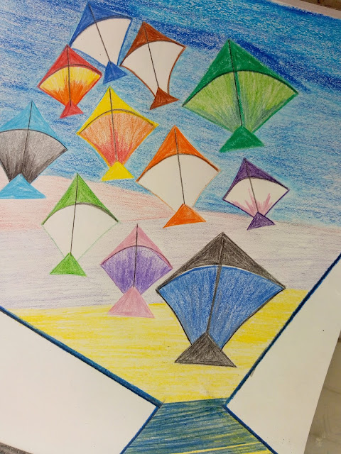 Kite Drawing image
