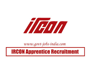 IRCON Apprentice Recruitment 2020
