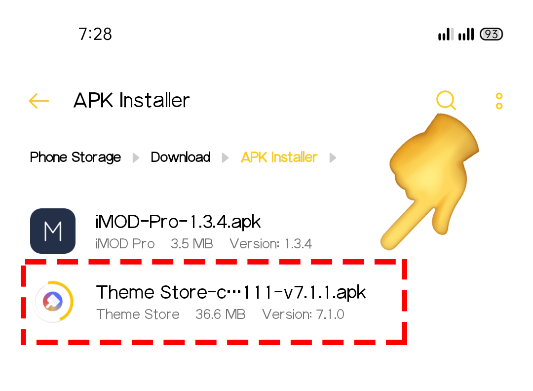 How to Update Theme Store from version 6.5 to version 7.1 (Android Version 10)