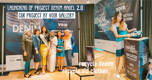 Up-cycle and Recycle your Fabrics through Project Denim Angel 2.0 by Voir Gallery