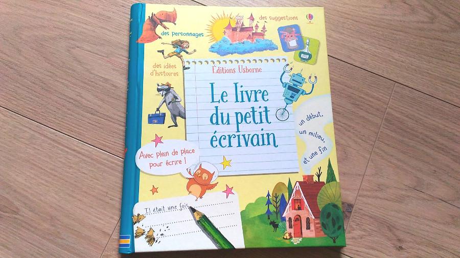 Le livre du petit écrivain - édition Usborne
