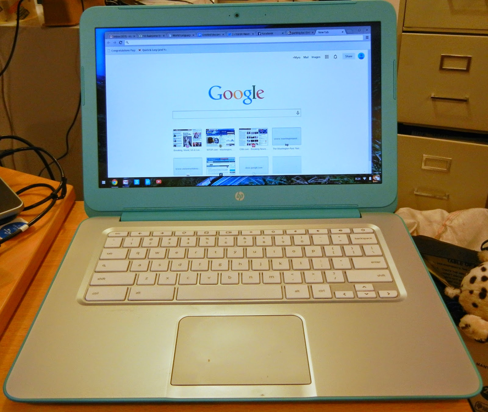Upgrading the HP Chromebook 14 (Falco) SSD