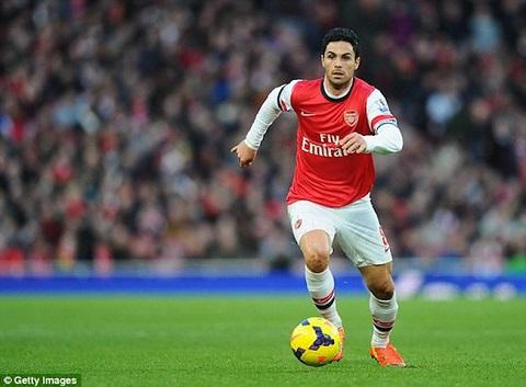 Vermaelen đã từng là thủ quân của Arsenal