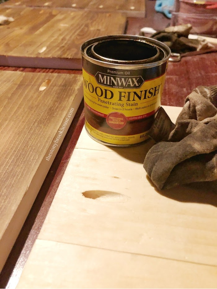 Minwax Wood Finish Stain in Espresso