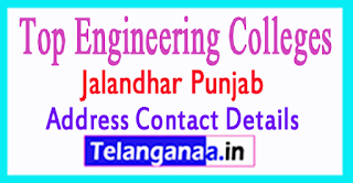 Top Engineering Colleges in Jalandhar Punjab