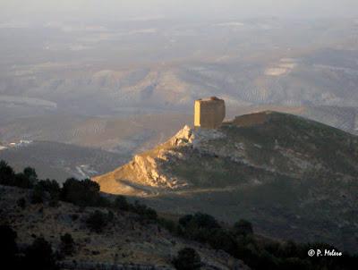 Artcazorla Pedro Melero: Atardecer. Castillo de Salvatierra. Cazorla.