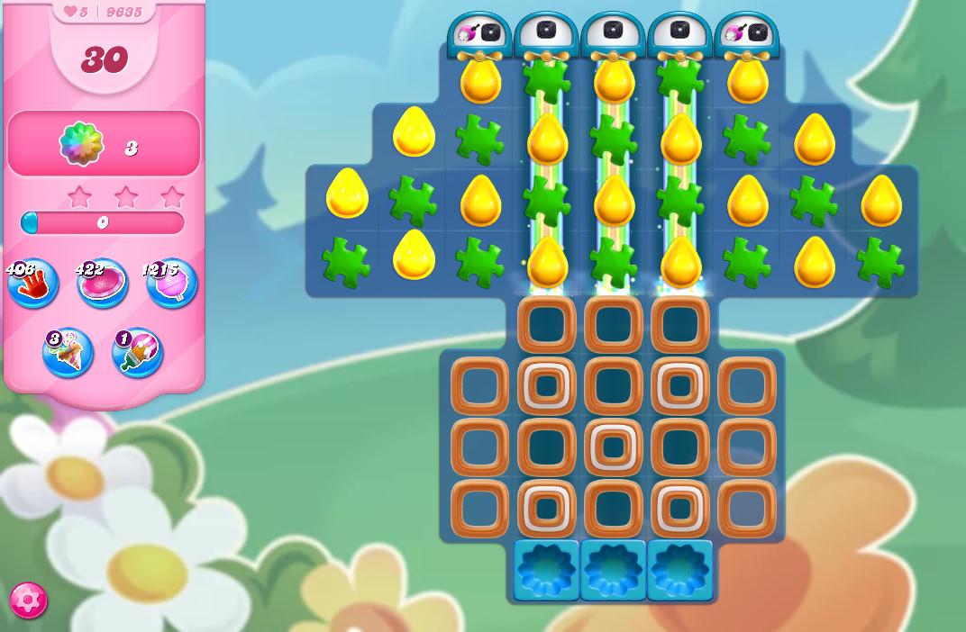 Candy Crush Saga level 9635