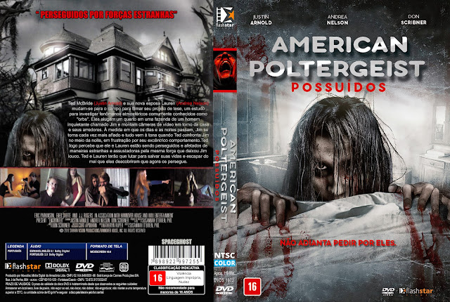 Capa DVD American Poltergeist Possuídos